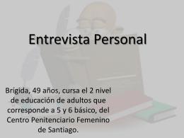 Entrevista Personal (108794)