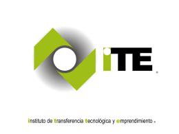 Incentivo Tributario - Instituto de Transferencia Tecnológica y