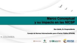 Anthony Ronald Salole - Marco Conceptual y su impacto en las NICSP