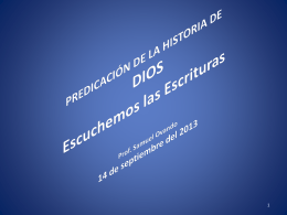 Lec 2 Escuchemos las Escrituras - Escuela Teologica Misional