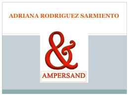 ADRIANA RODRIGUEZ SARMIENTO