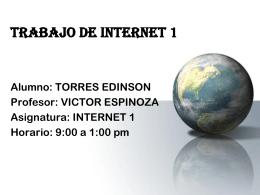 internet - Escaparsederealidad