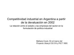 Clase Competitividad - Facultad de Ciencias Sociales