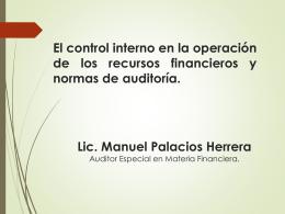 Control Interno - Auditoría Superior del Estado de Quintana Roo