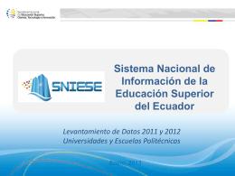 Capacitacion UEP levantamiento datos 2011 y 2012