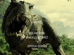 Angels Gómez del Pulgar Pitar y Epossi Colón - E