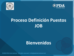 Descargar Material - PDA Behavioral Assessment