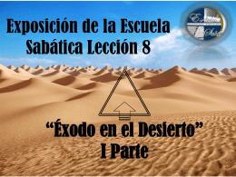 Exposicion Leccion #8 - Soldados de la Cruz de Cristo