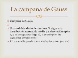 La campana de Gauss