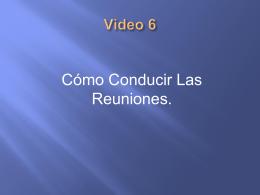 Video 6 - Discipulados