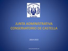 JUNTA ADMINISRATIVA CONSERVATORIO DE CASTELLA