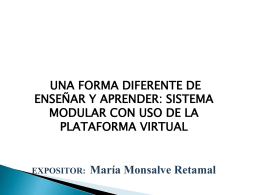 PPT María Monsalve