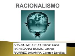 RACIONALISMO (800564)
