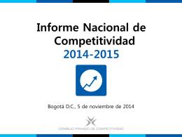 Presentación de PowerPoint - Consejo Privado de Competitividad