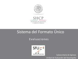 Evaluaciones (Parte teórica) - Secretaría de Finanzas y Administración