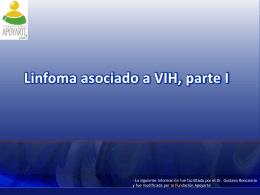 Linfoma asociado a VIH, parte I