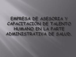 empresa de asesoria y capacitación de talento humano en la parte