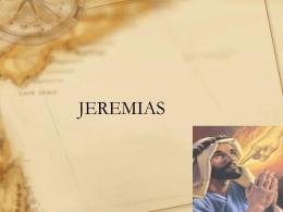 JEREMIAS - Sembrad