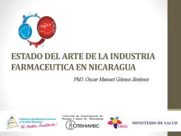 estado del arte de la industria farmaceutica en nicaragua