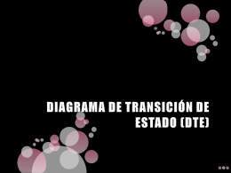 diagrama de transición de estado (dte)