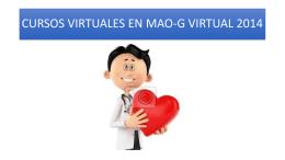 Revisión de estado y avance de cursos Virtuales