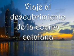 la cocina catalana - Crociera-scuola 4 T