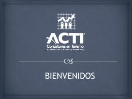 Tendencias Turisticas 2013 - Acti Consultores, Expertos en Calidad