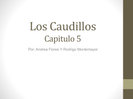 Los Caudillos - ASFM Tech Integration