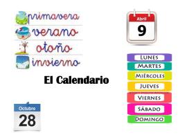 El Calendario - Challenge Preparatory Charter School