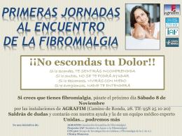 Primera Jornada Diagnóstica de Fibromialgia