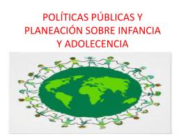 POLÍTICAS PUBLICAS DE LA PRIMERA INFANCIA
