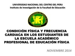 TAPIA CAMARGO, Jorge - Facultad de Educación