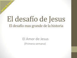 El Desafío de Jesús 1 – Power Point Multimedia