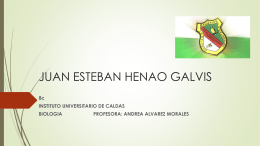 DIAPOSITIVAS SISTEMA INMUNE - Instituto Universitario de Caldas