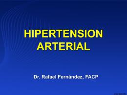 Hipertension Arterial 2014 - Medicina Interna de El Salvador