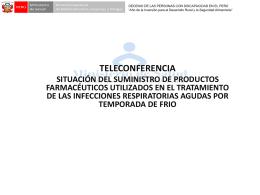 Teleconferencia programa inicio