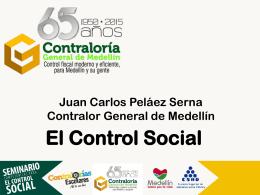 presentación control social