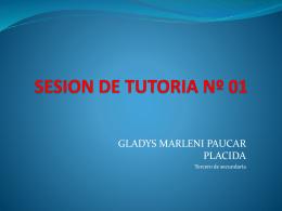 SESION DE TUTORIA Nº 01