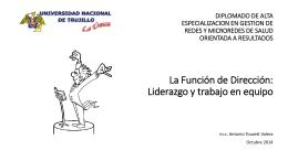 2147LA FUNCION DE DIRECCION