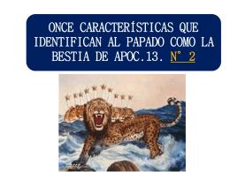434ONCE CARACTERISTICAS QUE IDENTIFICAN AL