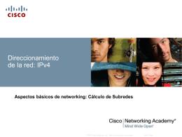 Clasificación y definición de direcciones IPv4