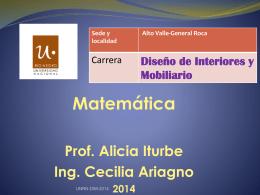 Presentacion matematica
