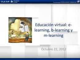 Diapositiva 1 - Educación a Distancia