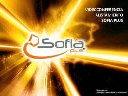 Diapositiva 1 - Portal SOFIA Plus