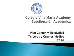 Presentación - Colegio Villa María Academy