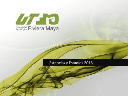 Estancia TSU - Universidad Tecnológica de la Riviera Maya