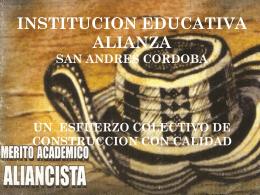institucion educativa alianza san andres cordoba un - Diana