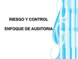 control interno - Mi sitio de Auditoría, todo a cerca de control