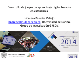 - Recursos Educativos Digitales UDENAR