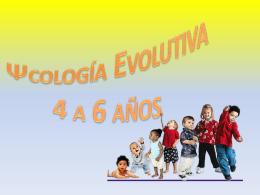 Picología evolutiva 4-6 años.